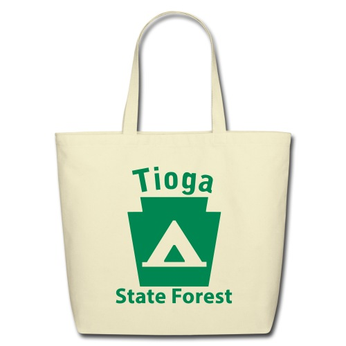 Tioga State Forest Keystone Camp - Eco-Friendly Cotton Tote
