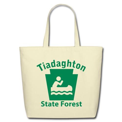 Tiadaghton State Forest Keystone Boat - Eco-Friendly Cotton Tote