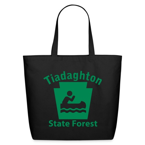 Tiadaghton State Forest Keystone Boat - Eco-Friendly Cotton Tote