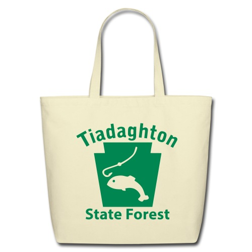 Tiadaghton State Forest Keystone Fish - Eco-Friendly Cotton Tote