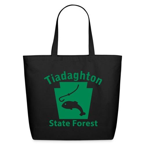 Tiadaghton State Forest Keystone Fish - Eco-Friendly Cotton Tote