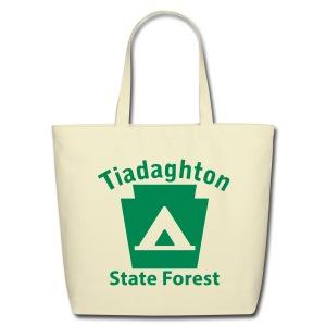 Tiadaghton State Forest Keystone Camp - Eco-Friendly Cotton Tote