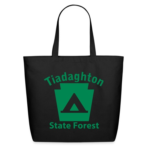 Tiadaghton State Forest Keystone Camp - Eco-Friendly Cotton Tote