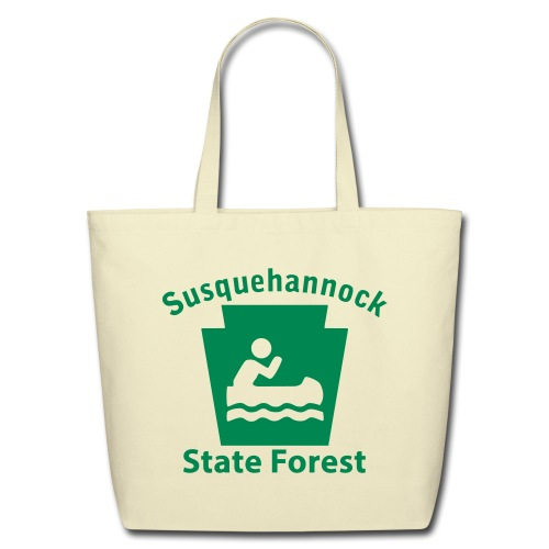 Susquehannock State Forest Keystone Boat - Eco-Friendly Cotton Tote