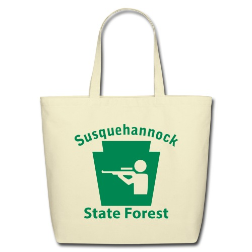 Susquehannock State Forest Keystone Hunt - Eco-Friendly Cotton Tote