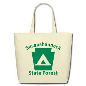 Susquehannock State Forest Keystone Camp - Eco-Friendly Cotton Tote