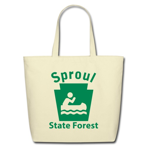 Sproul State Forest Keystone Boat - Eco-Friendly Cotton Tote