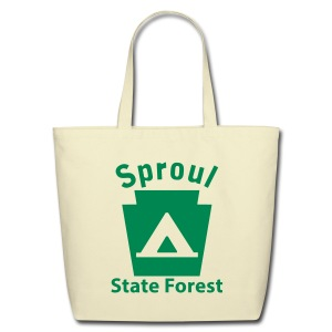 Sproul State Forest Keystone Camp - Eco-Friendly Cotton Tote