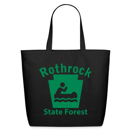 Rothrock State Forest Keystone Boat - Eco-Friendly Cotton Tote