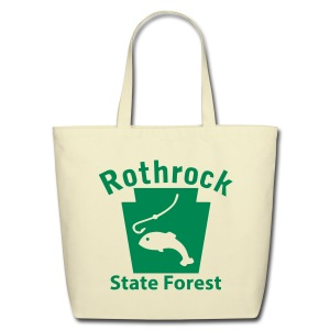 Rothrock State Forest Keystone Fish - Eco-Friendly Cotton Tote