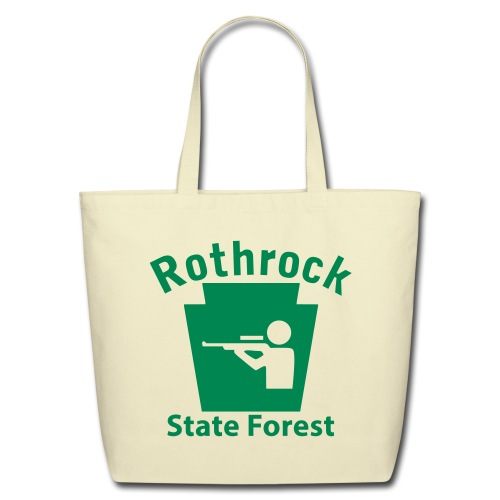 Rothrock State Forest Keystone Hunt - Eco-Friendly Cotton Tote