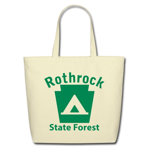 Rothrock State Forest Keystone Camp - Eco-Friendly Cotton Tote