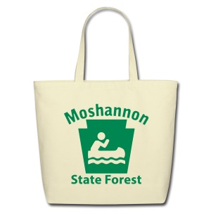 Moshannon State Forest Keystone Boat - Eco-Friendly Cotton Tote