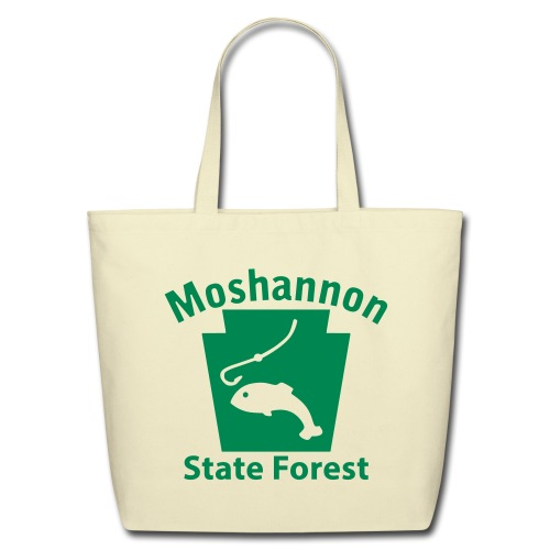Moshannon State Forest Keystone Fish - Eco-Friendly Cotton Tote