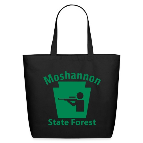 Moshannon State Forest Keystone Hunt - Eco-Friendly Cotton Tote