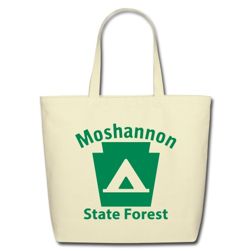 Moshannon State Forest Keystone Camp - Eco-Friendly Cotton Tote