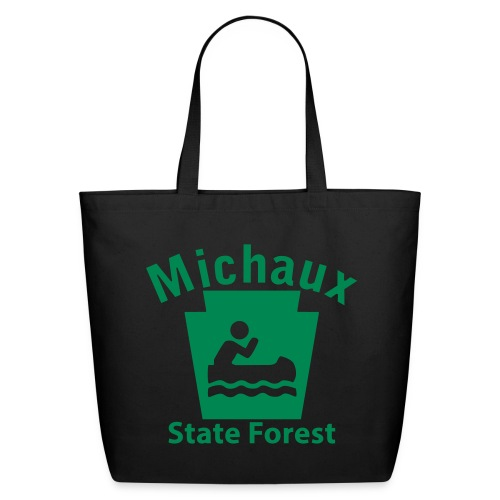 Michaux State Forest Keystone Boat - Eco-Friendly Cotton Tote