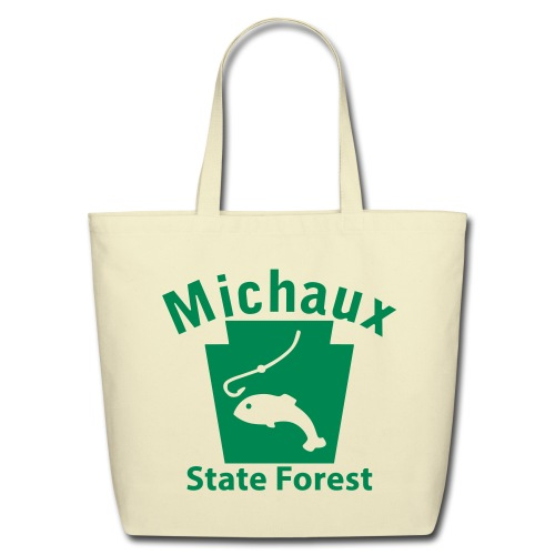 Michaux State Forest Keystone Fish - Eco-Friendly Cotton Tote