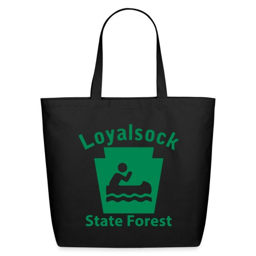 Loyalsock State Forest Keystone Boat - Eco-Friendly Cotton Tote