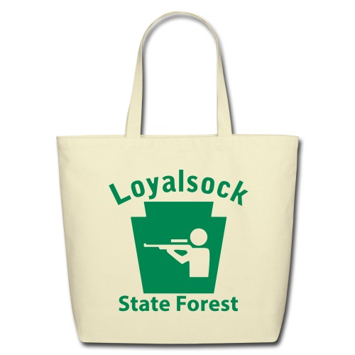 Loyalsock State Forest Keystone Hunt - Eco-Friendly Cotton Tote