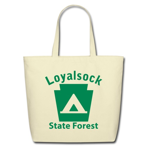 Loyalsock State Forest Keystone Camp - Eco-Friendly Cotton Tote