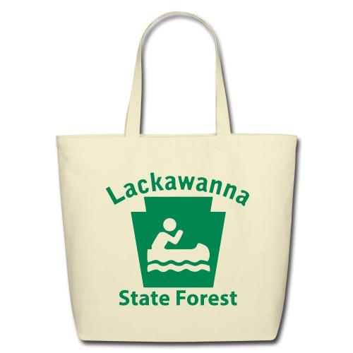 Lackawanna State Forest Keystone Boat - Eco-Friendly Cotton Tote