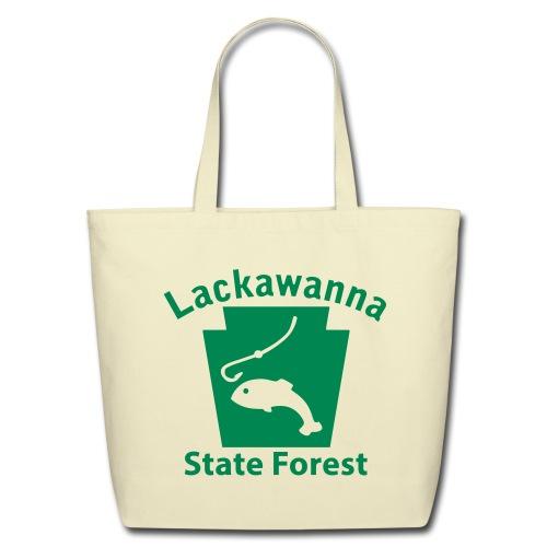 Lackawanna State Forest Keystone Fish - Eco-Friendly Cotton Tote