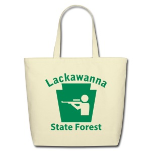 Lackawanna State Forest Keystone Hunt - Eco-Friendly Cotton Tote