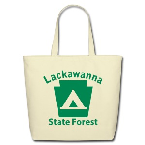 Lackawanna State Forest Keystone Camp - Eco-Friendly Cotton Tote