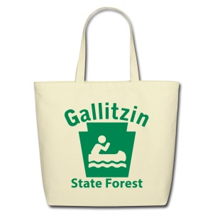 Gallitzin State Forest Keystone Boat - Eco-Friendly Cotton Tote