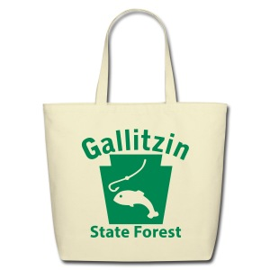 Gallitzin State Forest Keystone Fish - Eco-Friendly Cotton Tote