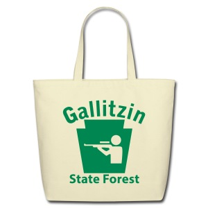 Gallitzin State Forest Keystone Hunt - Eco-Friendly Cotton Tote