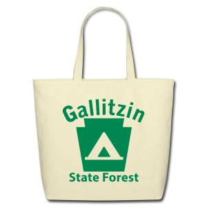 Gallitzin State Forest Keystone Camp - Eco-Friendly Cotton Tote