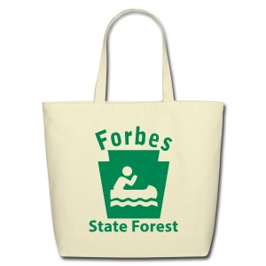 Forbes State Forest Keystone Boat - Eco-Friendly Cotton Tote