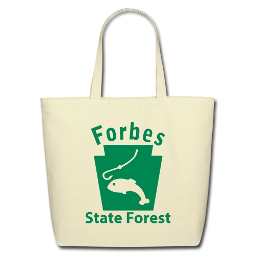 Forbes State Forest Keystone Fish - Eco-Friendly Cotton Tote