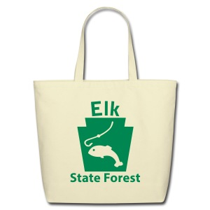 Elk State Forest Keystone Fish - Eco-Friendly Cotton Tote