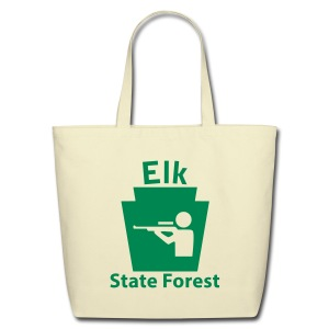 Elk State Forest Keystone Hunt - Eco-Friendly Cotton Tote
