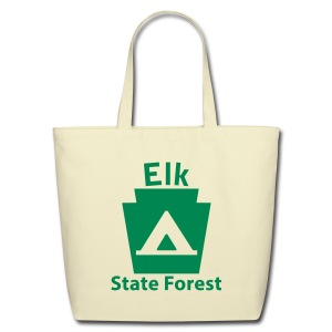 Elk State Forest Keystone Camp - Eco-Friendly Cotton Tote