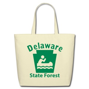Delaware State Forest Keystone Boat - Eco-Friendly Cotton Tote