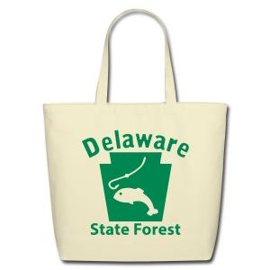 Delaware State Forest Keystone Fish - Eco-Friendly Cotton Tote