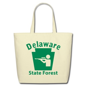Delaware State Forest Keystone Hunt - Eco-Friendly Cotton Tote