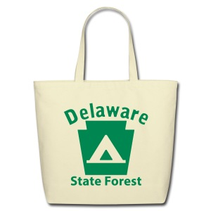 Delaware State Forest Keystone Camp - Eco-Friendly Cotton Tote