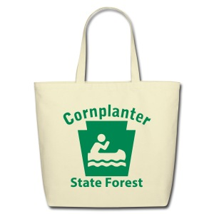 Cornplanter State Forest Keystone Boat - Eco-Friendly Cotton Tote