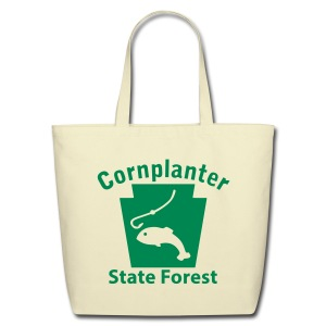 Cornplanter State Forest Keystone Fish - Eco-Friendly Cotton Tote