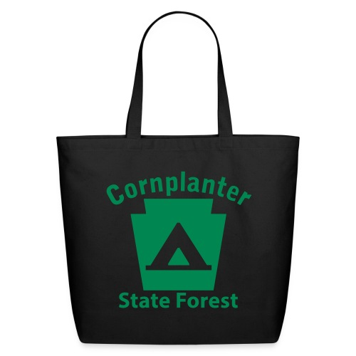 Cornplanter State Forest Keystone Camp - Eco-Friendly Cotton Tote