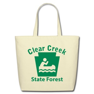 Clear Creek State Forest Keystone Boat - Eco-Friendly Cotton Tote