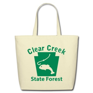 Clear Creek State Forest Keystone Fish - Eco-Friendly Cotton Tote
