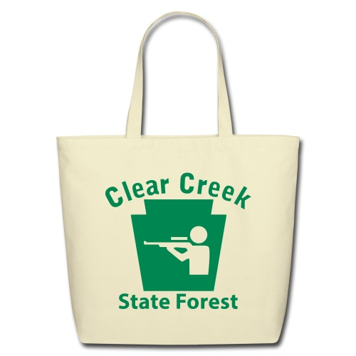 Clear Creek State Forest Keystone Hunt - Eco-Friendly Cotton Tote
