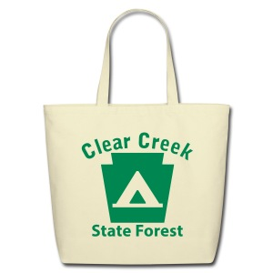 Clear Creek State Forest Keystone Camp - Eco-Friendly Cotton Tote