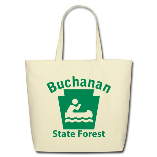 Buchanan State Forest Keystone Boat - Eco-Friendly Cotton Tote